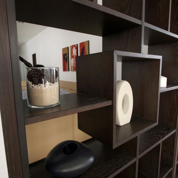 Bespoke Room divider - Open Shelving