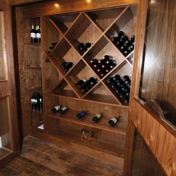 Bespoke Wine Cabinet - Wood