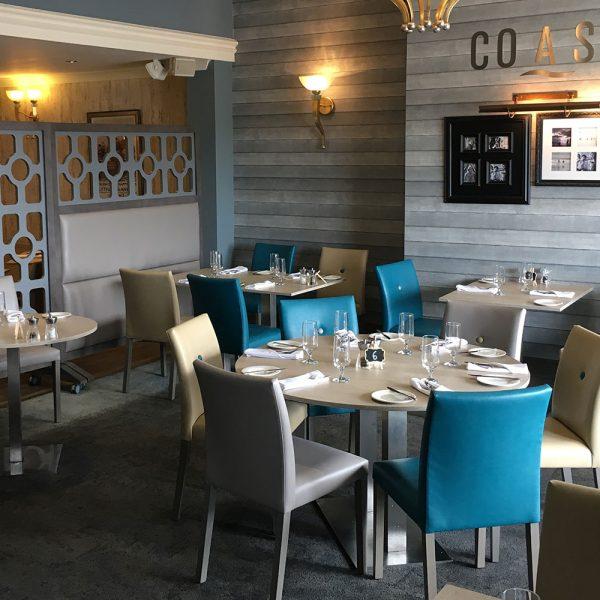 Bespoke Restaurant Divider - The Coast Restaurant - Glendower