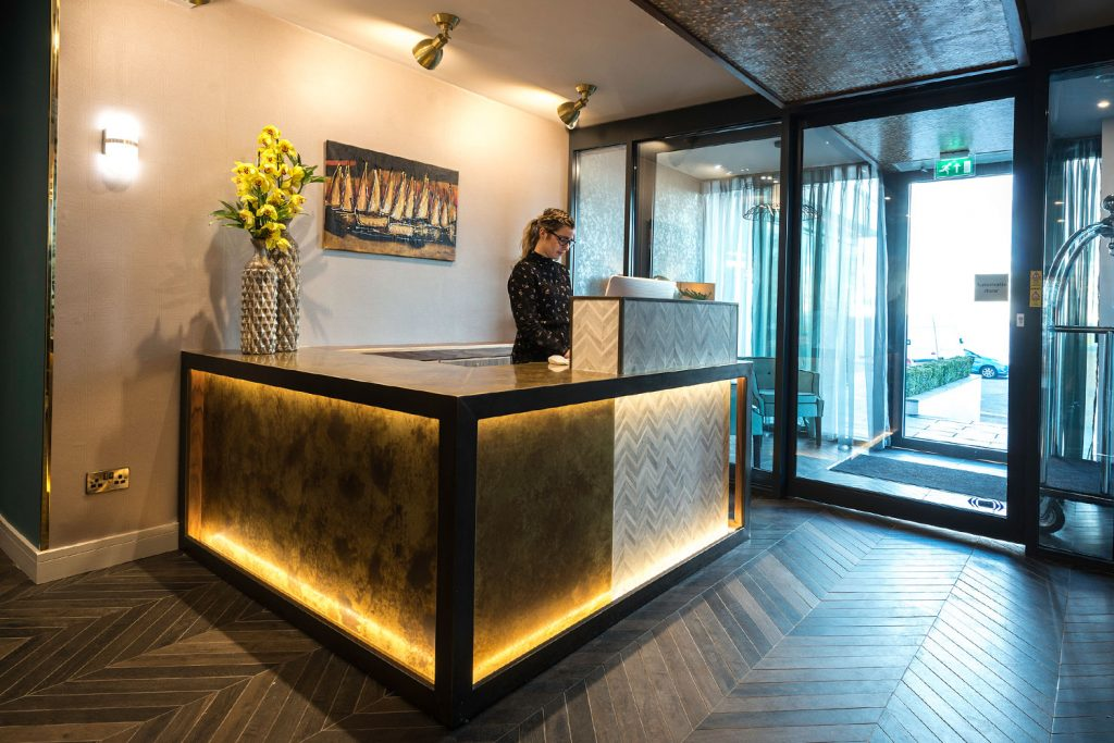 Hotel Reception Design Bespoke Reception Desks Furnotel