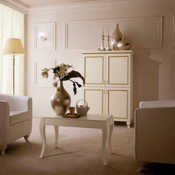 Hotel TV Cabinet - Paris Gold