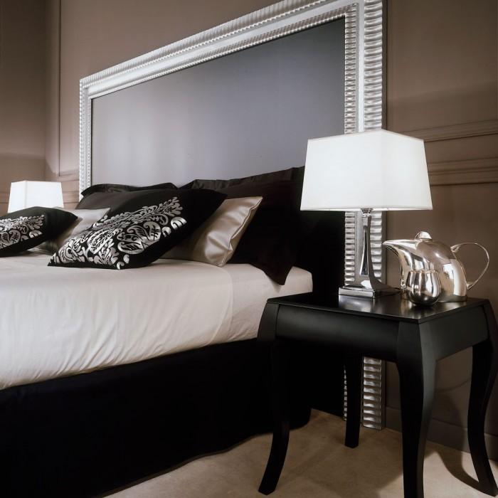 Hotel headboard - Venice Silver