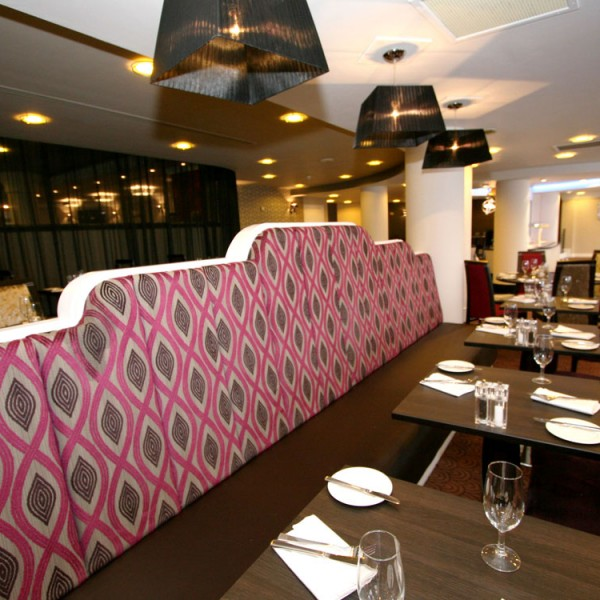 Banquette - upholstered-ethnic