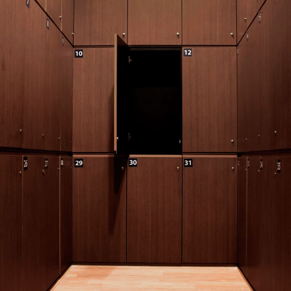 Bespoke Lockers - Wood