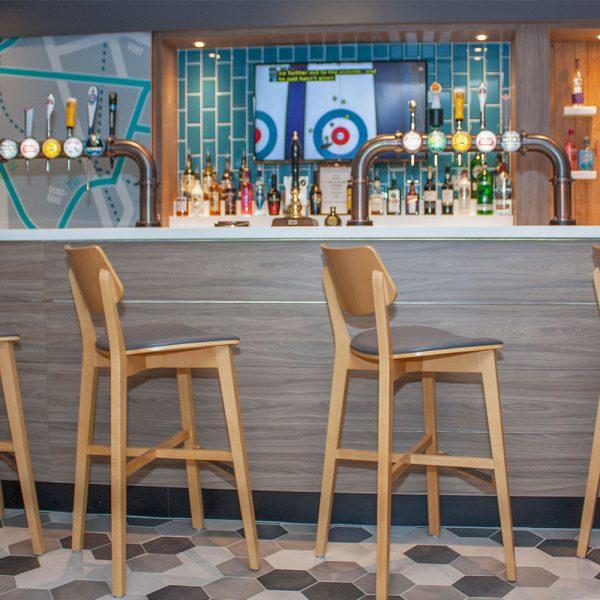 Bespoke Hotel Bar Design - Holiday Inn