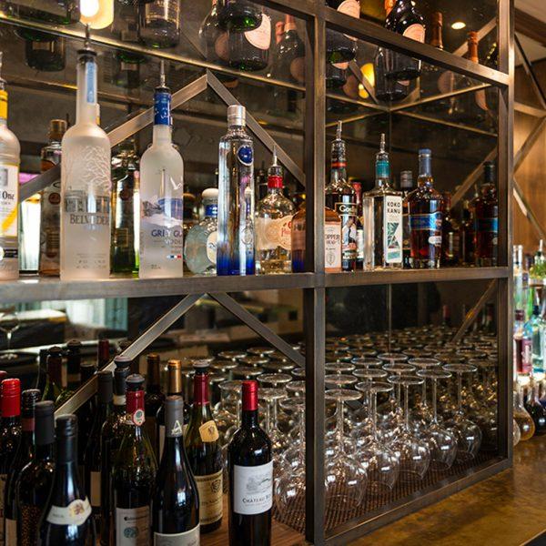 Bar Design - Metal Bar Display