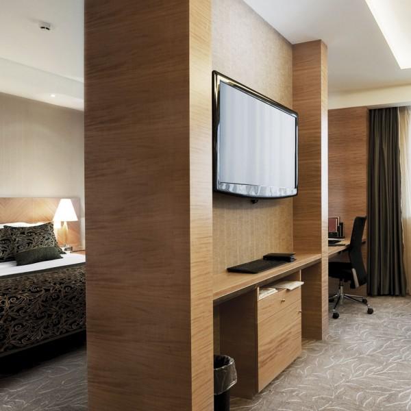 Bespoke Hotel Wood Room Divider