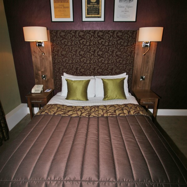 Bespoke Hotel Headboard with Integrated Lighting