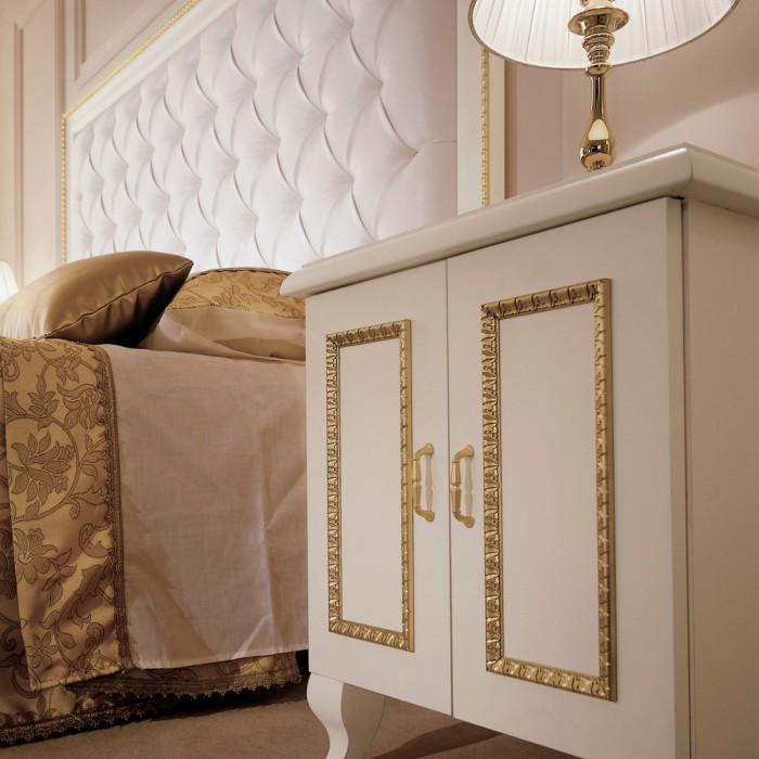 Bedside Cabinet - Paris Gold