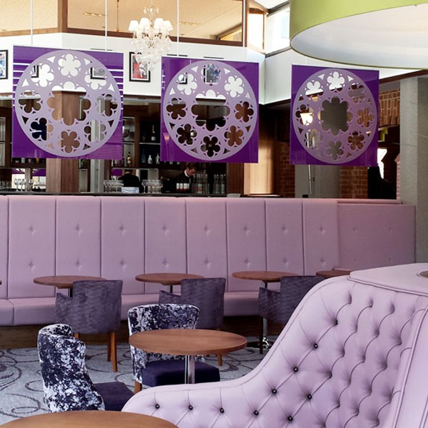 Violet Classic Banquette Seating