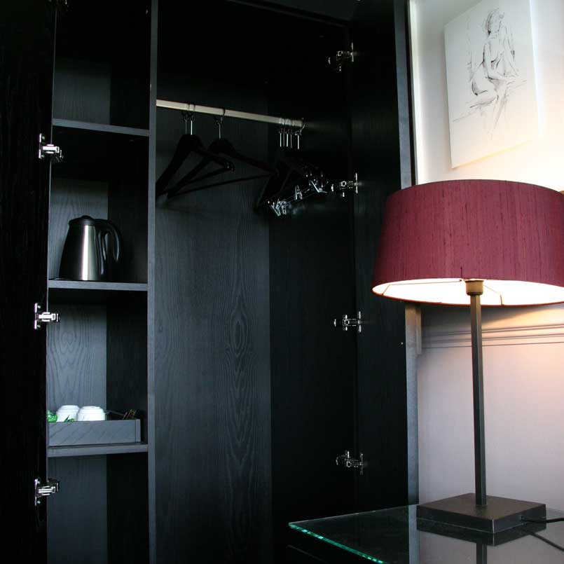 Bespoke Hotel Bedroom Wardrobe