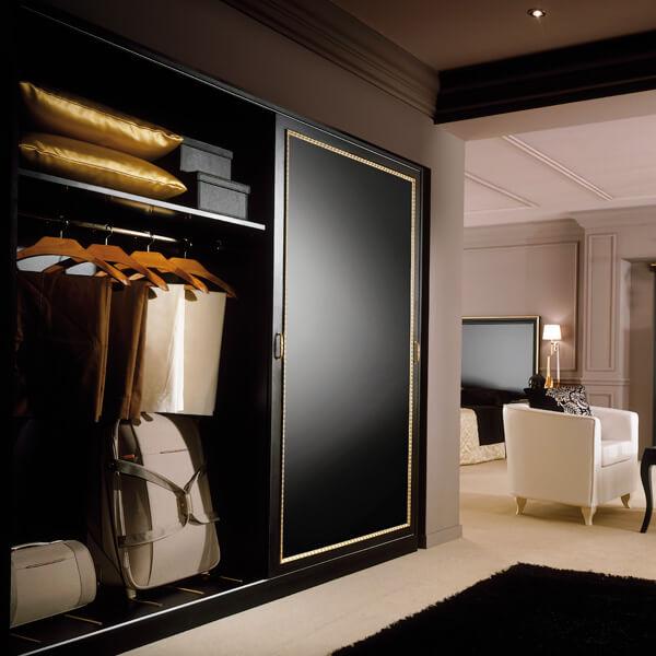 Boutique Hotel Wardrobe with Sliding Door - Paris