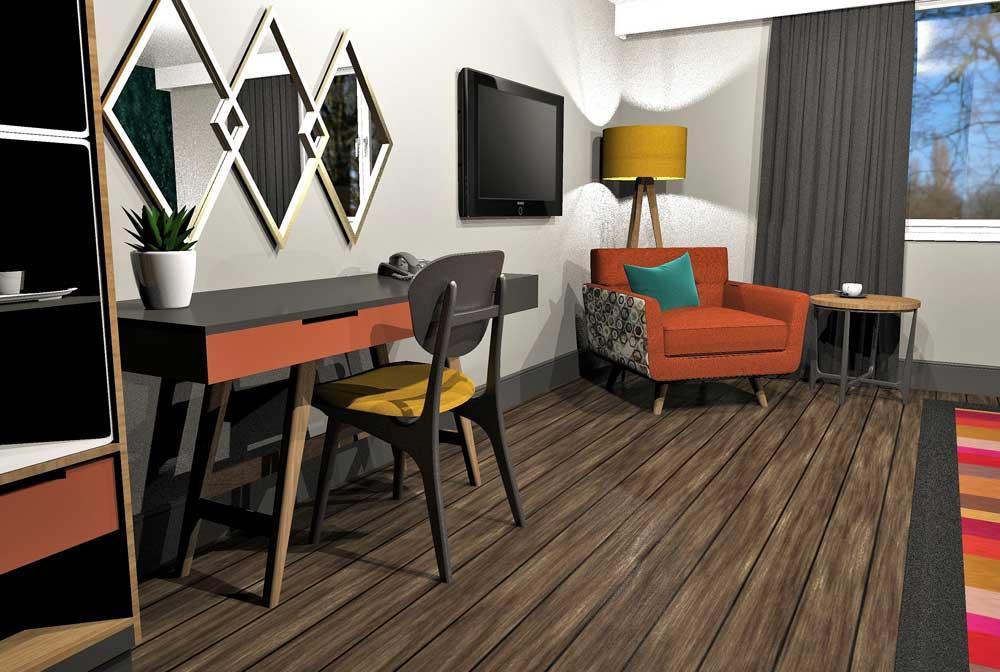Retro Bedroom Furniture - Ruben 02