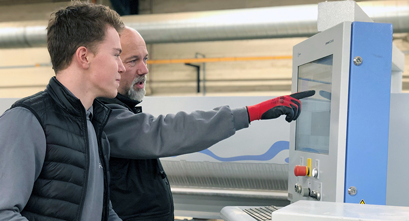 British manufacturing companies teach the next generation