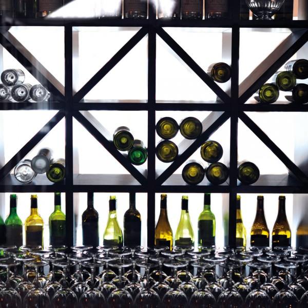 Bespoke Hotel Wine Cabinet