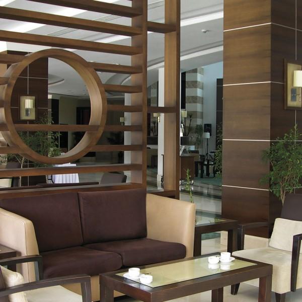 Bespoke Room Divider - Hotel Lounge