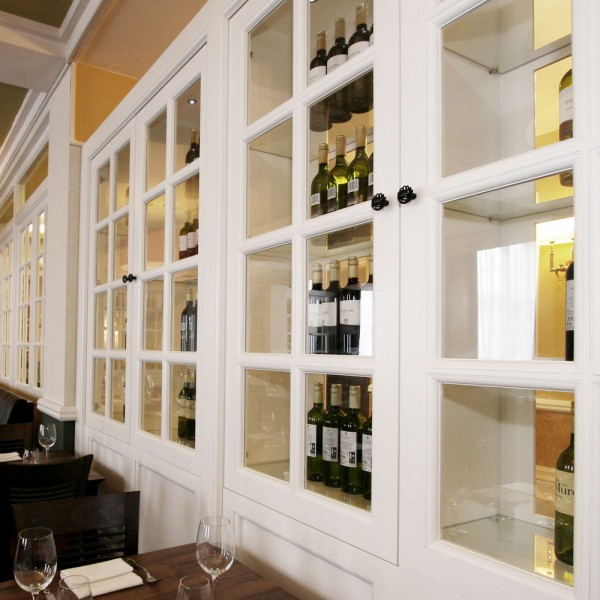 Bespoke Wine Cabinet - Glazed