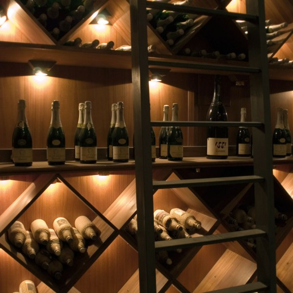 Bespoke Wine Wall Shelving