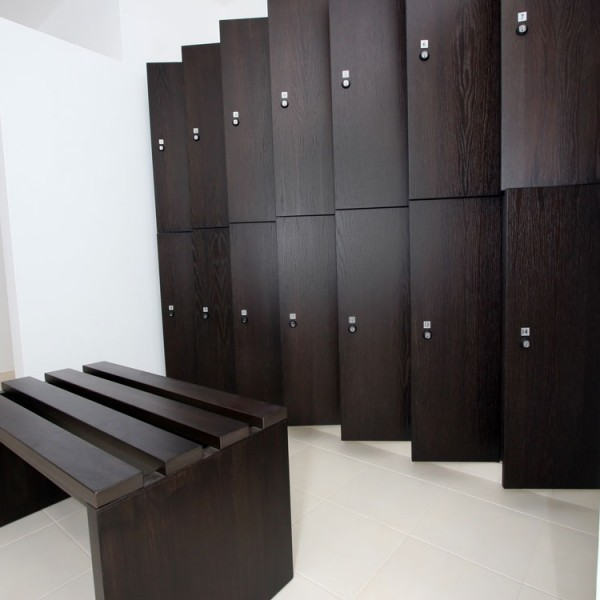 Bespoke Lockers - Wenge Finish