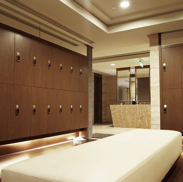 Made to Measure Lockers Hotel Spa