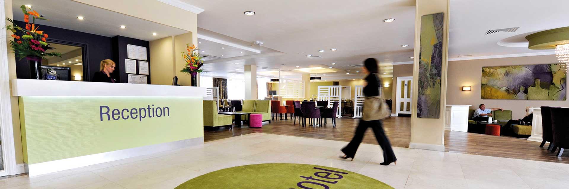 interior design of hotel reception design