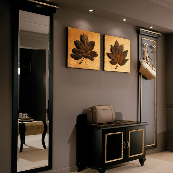 Boutique Hotel Mirror & Coat Stand