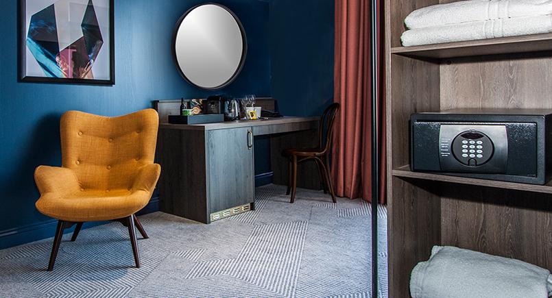 Furnotel Blog Seel Street Hotel Bedroom Wardrobe