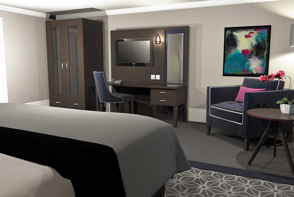 Luxury Bedroom Furniture Range - Rosa 02