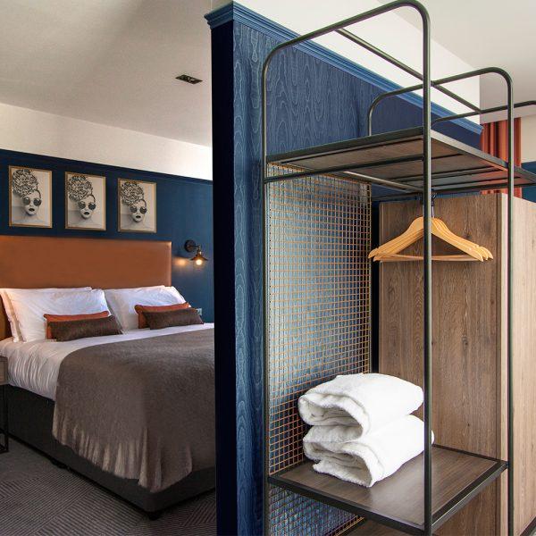 Industrial bespoke bedroom design