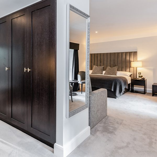 dark veneer bespoke furniture design