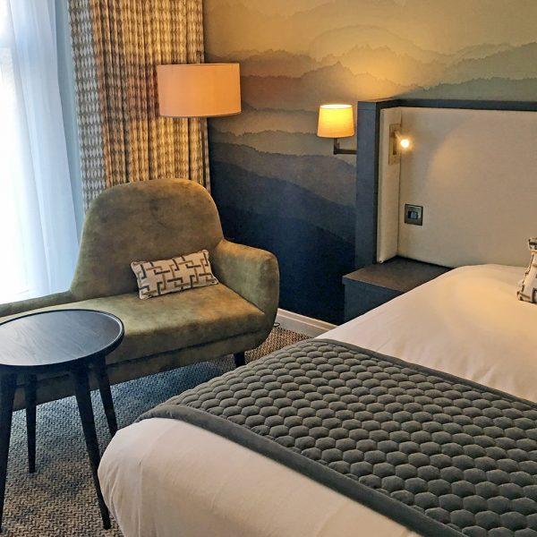 bespoke furniture design of hotel casegoods